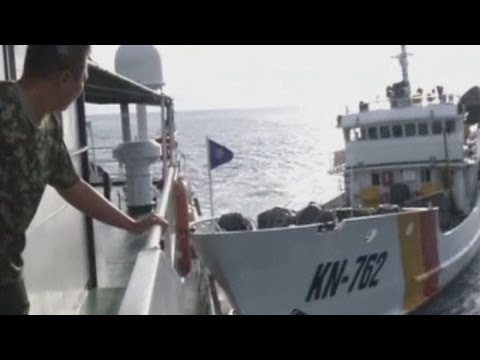 Dramatic Video Of Vietnamese Boats Ramming Chinese Ships