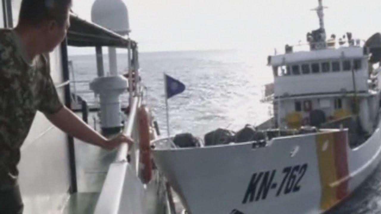Dramatic video of Vietnamese boats ramming Chinese ships