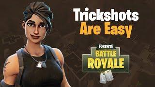 TVC Fortnite Battle Royale: Trickshots Are Easy! (Fortnite shorts with TVC_Lynx)