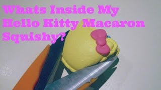 Whats Inside My Hello Kitty Squishy?