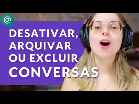Como desativar histórico, arquivar ou excluir conversa Hangouts Chat (Série Meet e Chat - Ep. 03)