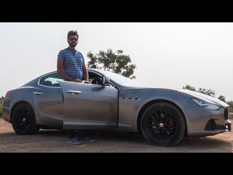 Maserati Ghibli - Feature Loaded Diesel Sedan | Faisal Khan