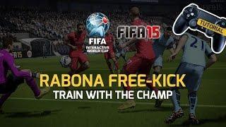 FIFA 15 Tutorial: Rabona Free-Kick