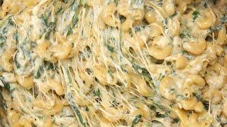 Spinach Artichoke Mac & Cheese
