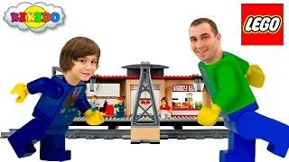 Лего Сити Железнодорожная Станция 60050. Новые серии Лего. Lego city Train Station. Кикидо