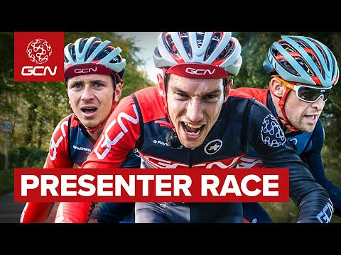 GCN Presenter Race   Christmas Party Cycling Challenge