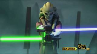 Jedi Master Kit Fisto vs General Grievous