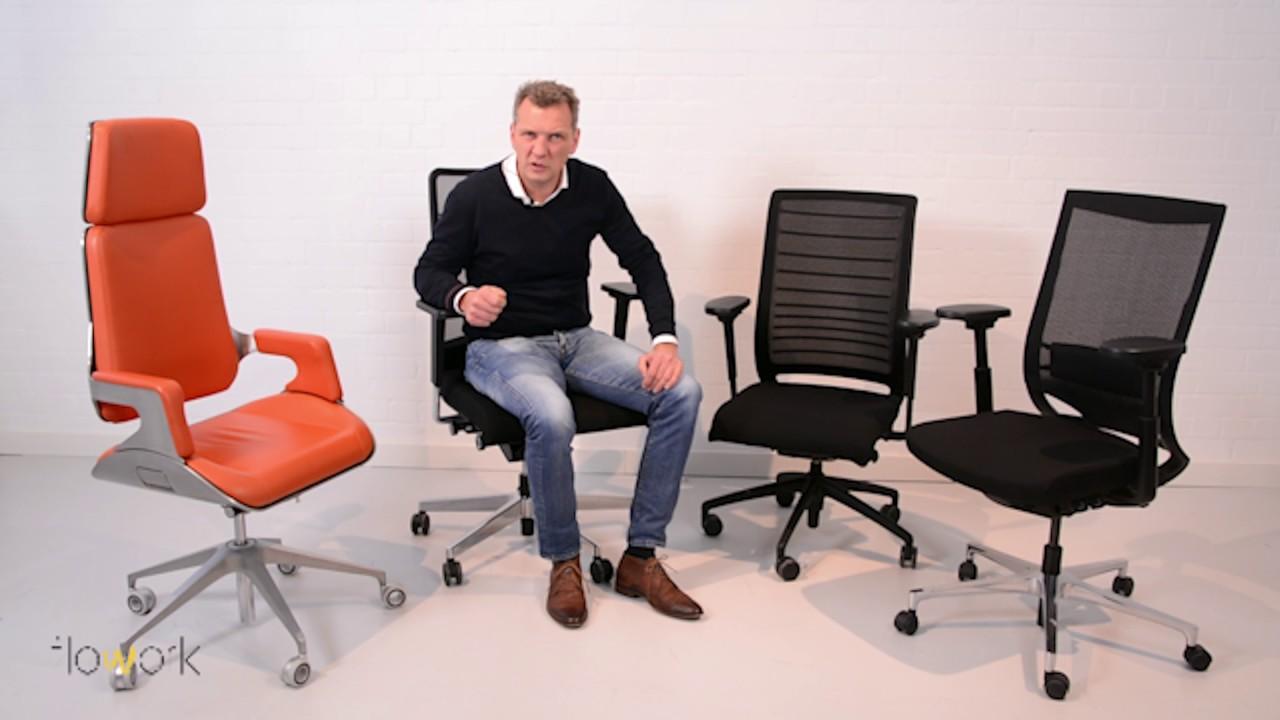 Waarom kiezen voor een luxe bureaustoel flowork youtube