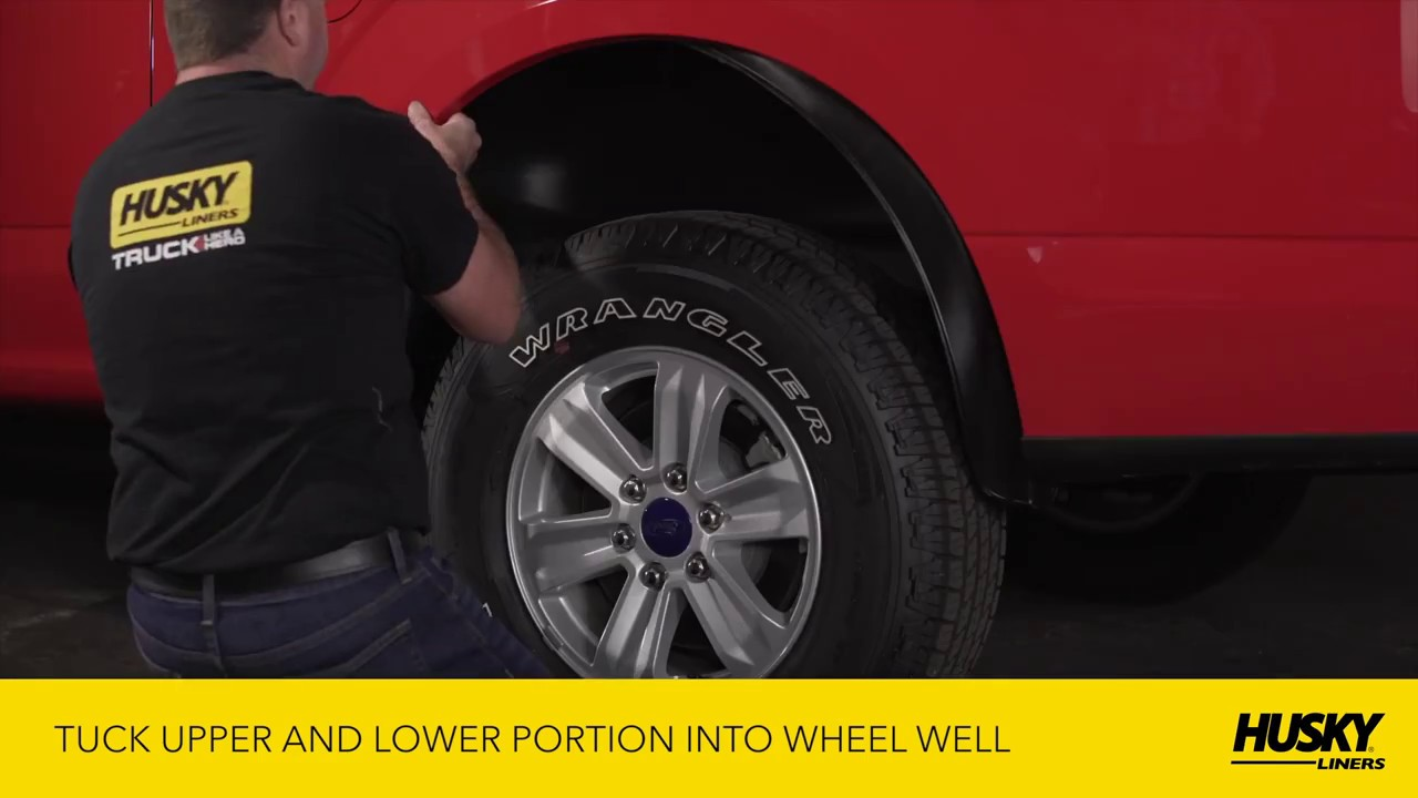 Without The Appearance Of Liner: Husky Liners® Wheel Well Guard Installation Video