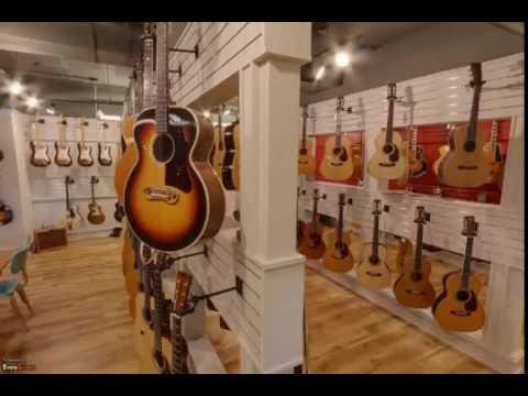 gruhn guitars nashville tn musical instruments youtube. Black Bedroom Furniture Sets. Home Design Ideas