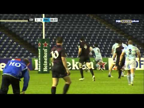 Piers Francis Poor Performance For Edinburgh Vs Racing-Métro