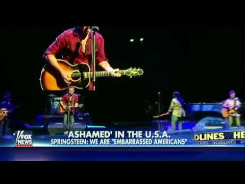 Bruce Springsteen at Australia Concert  'We Stand Before You As Embarrassed Americans'