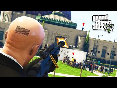 GTA 5 PC Mods - ULTIMATE HITMAN AGENT 47 MOD! GTA 5 Hitman Mod Gameplay! (GTA 5 Mods Gameplay)