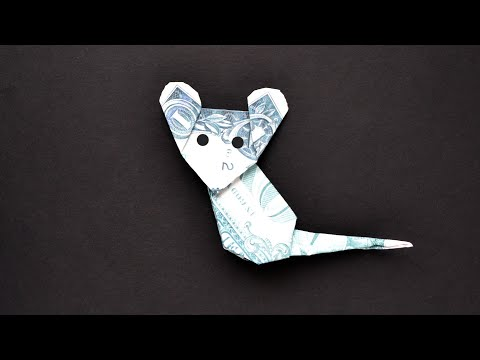 My MONEY MOUSE | SYMBOL 2020 | Dollar Origami Animal | Tutorial DIY By NProkuda
