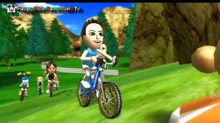 Wii Sports Resort - Cycling Road Race - Around The Island 2 - Happy Kids Games And Tv