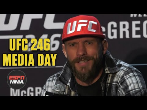 Donald Cerrone UFC 246 Media Day Press Conference | ESPN MMA
