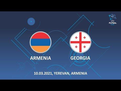 UEFA Futsal EURO 2022. Armenia - Georgia