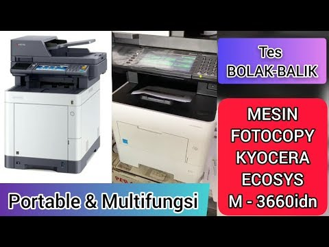 MESIN FOTOCOPY KYOCERA ECOSYS M3660idn [Kyocera ECOSYS M3655idn M3660idn Review]