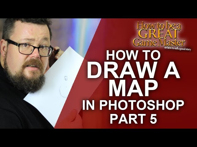 GREAT GM: How to draw a rpg game map part 5 - Great game master dungeon master tips