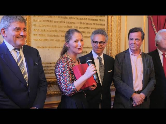 Remise du Prix Etienne Marcel 2016