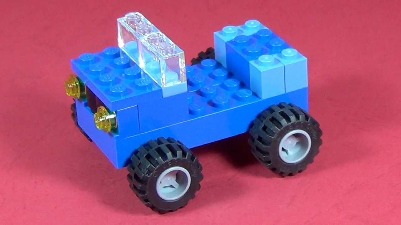 how to build lego car 4628 lego fun with bricks. Black Bedroom Furniture Sets. Home Design Ideas