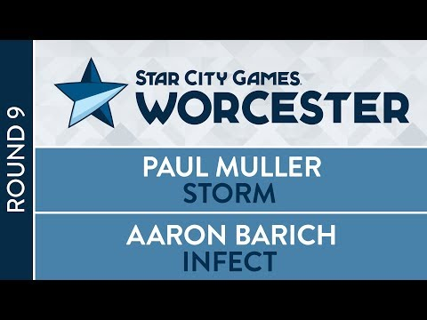 SCGWOR: Round 9 - Paul Muller vs Aaron Barich [Modern]