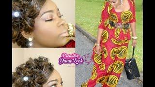 Maquillage Congolaise #3 Fierté et beauté de la femme Africaine, Model Pagne Africain