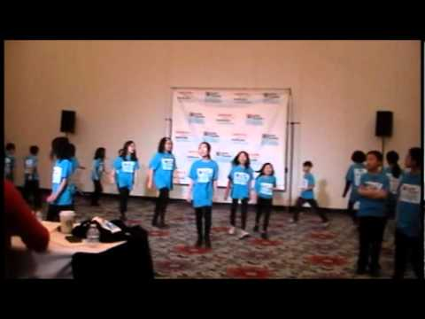 Part 1, 2012 -NY  PS 124 Wins National Musical Theater Award in Atlanta, GA,