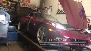 2007 Corvette TSP Header Dyno