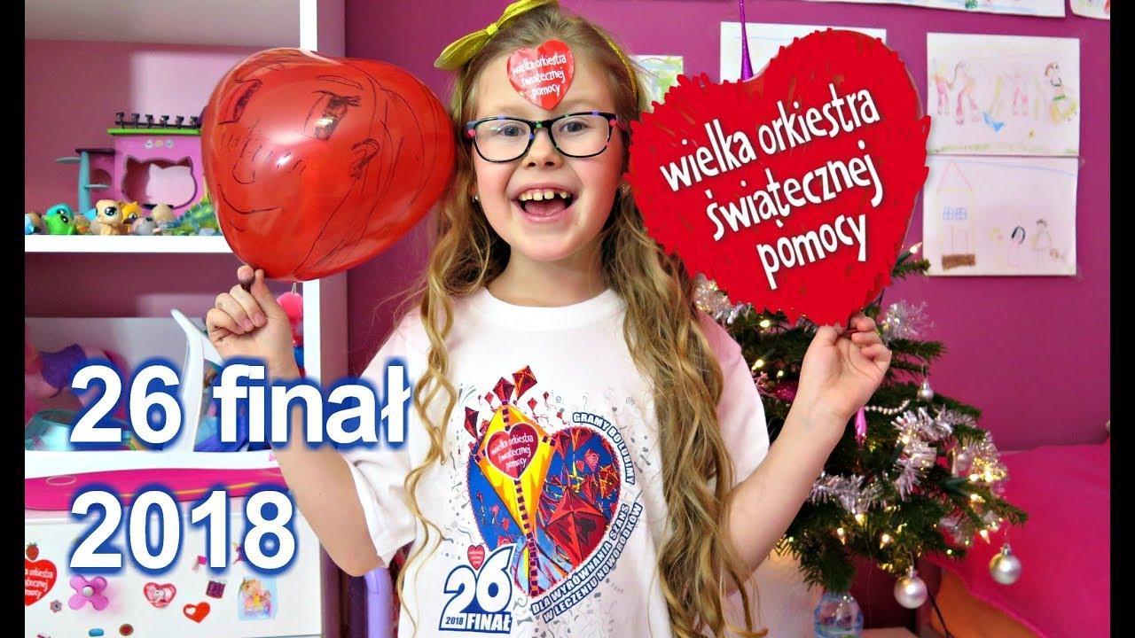 WOŚP 2018 – 26 finał Wielka Orkiestra Świątecznej Pomocy w Kruszynie