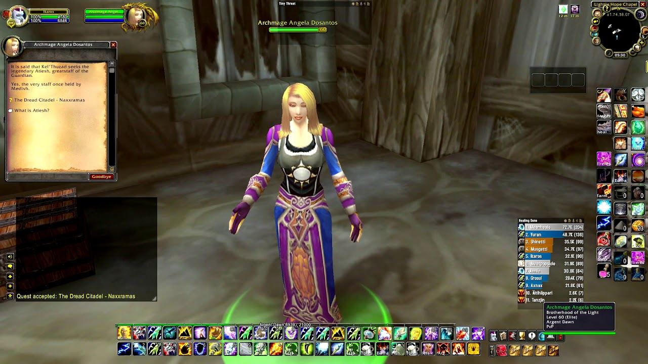 Naxxramas Attunement Available Need To Get Rep Youtube