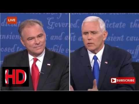 "donald trump 2017 -Mike Pence Tells Tim Kaine ""I'll Work With You When You Go Back To The Senate"""