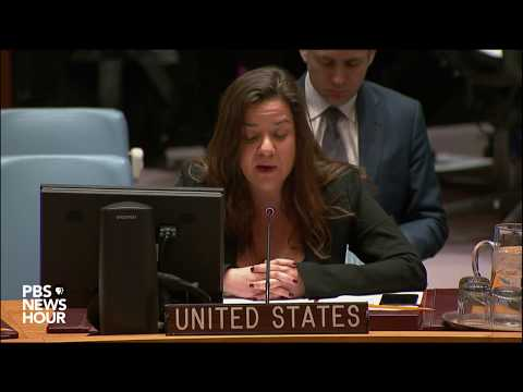 WATCH: UN Security Council holds meeting on Jerusalem, current state of foreign affairs