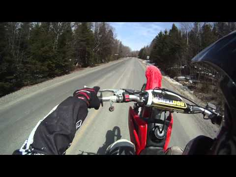 takegawa 194 vs honda crf 150 12 motard gopro hd doovi