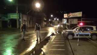 Polícia é recebida a bala na blitz em Ipuiuna