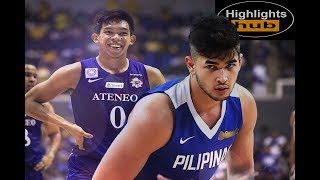 Kobe Paras Vs. Thirdy Ravena | Ateneo Vs. Gilas Game Highlights + Slowmo Montage