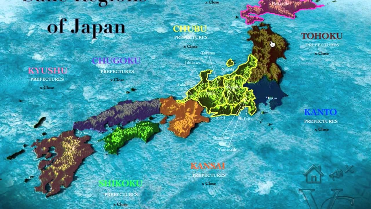 Sake regions of japan youtube sake regions of japan sciox Choice Image