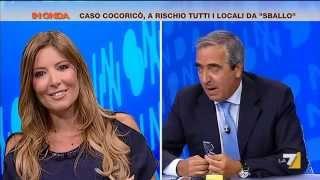 Lucarelli vs Gasparri: 'Mi sono fatta qualche canna ma resto lucida'