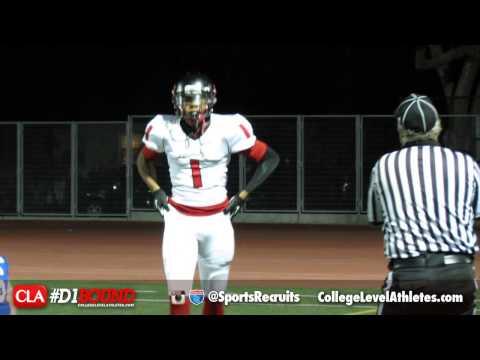 Tyrek Adams: 2016 WR Highlights (Pasadena Bulldogs) - CollegeLevelAthletes.com