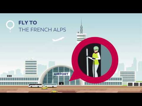 Lyon Aéroport : fly to the french Alps