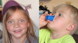 KIDS TRY COFFEE CREAMER FOR THE FIRST TIME!