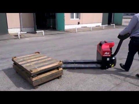 Транспортировщик паллет (электротележка, электро-рохля) CBD15 AMC1 г/п 1,5 тонн