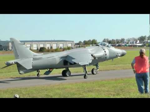 Art Nalls - Sea Harrier at Culpeper Air Fest 2011