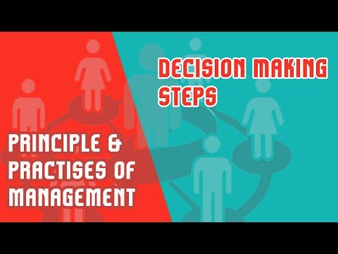 Decision Making | Steps To Rational Decision Making | PPM | Module 3 | Part 5