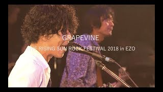 GRAPEVINE LIVE RISING SUN ROCK FESTIVAL 2018 in EZO (Trailer)