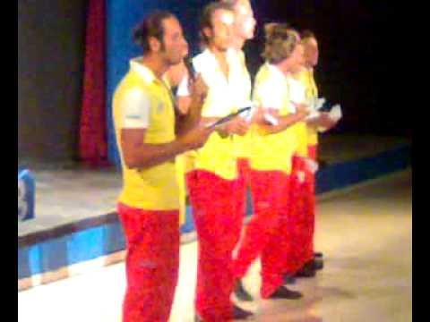 Palais Des Iles Ottobre 2008 - Presentazione equipe sport