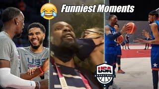 Team USA Basketball FUNNY Moments