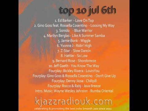 KJAZZ Radio UK Weekly Top 10 - Jul 6th 2014