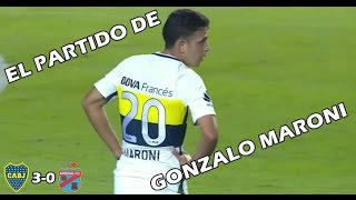 Lo mejor de Gonzalo Maroni - Boca Juniors vs Arsenal (3-0) Primera División 2017
