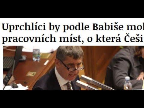 Andrej Babiš podporuje ilegální migraci! Vždy říká to, co se mu hodí!